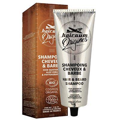 Hairgum šampoon juustele ja habemele on orgaaniliste koostisosadega